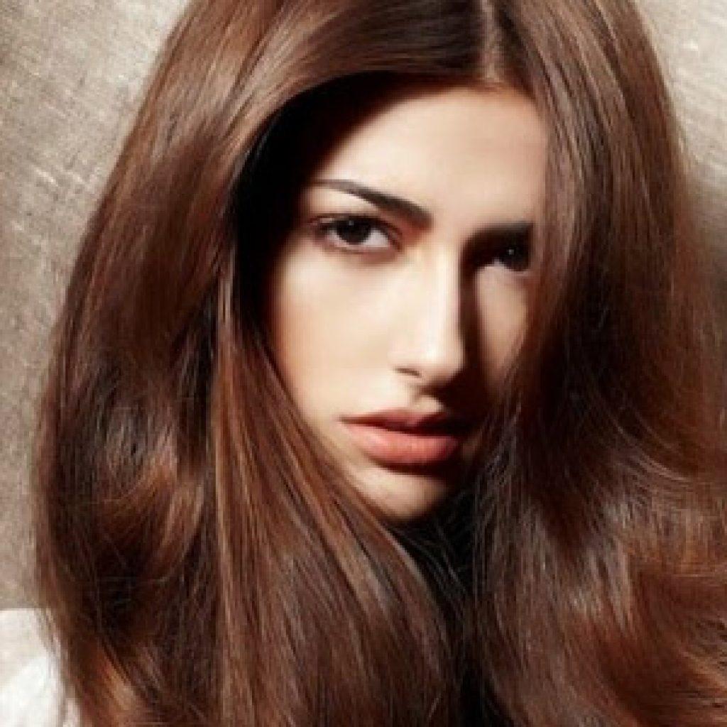Как покрасить волосы в шоколадный цвет