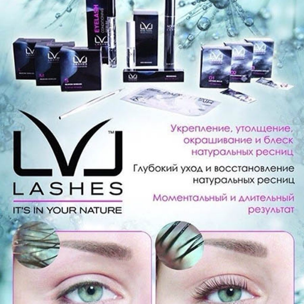 Набор марки LVL Lashes