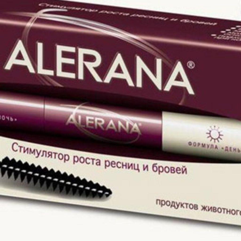 Стимулятор роста для ресниц и бровей Alerana - описание и отзывы