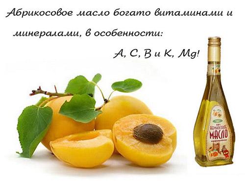 Витамины в абрикосах