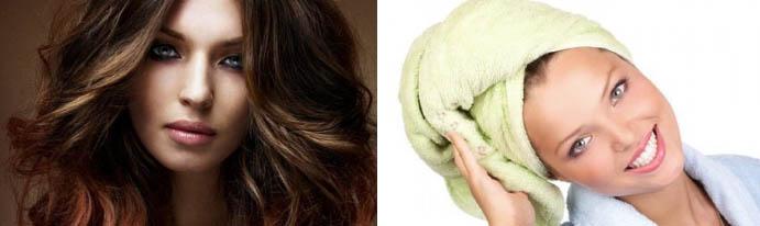 Домашние маски для красивых волос