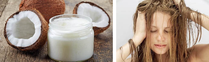 Масло на основе кокоса для волос