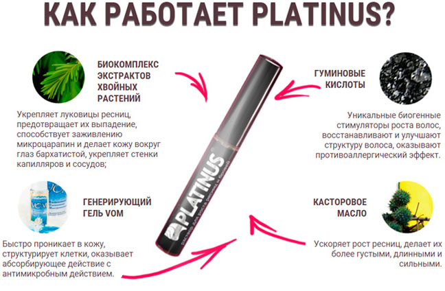 Состав Platinus