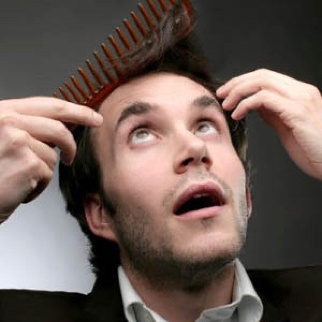 Что делать если у мужчины выпадают волосы