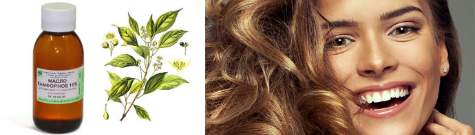Экстракт камфоры для волос