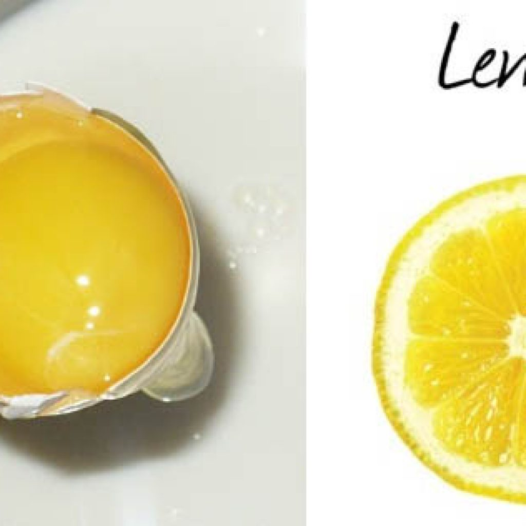 Яично-лимонная маска