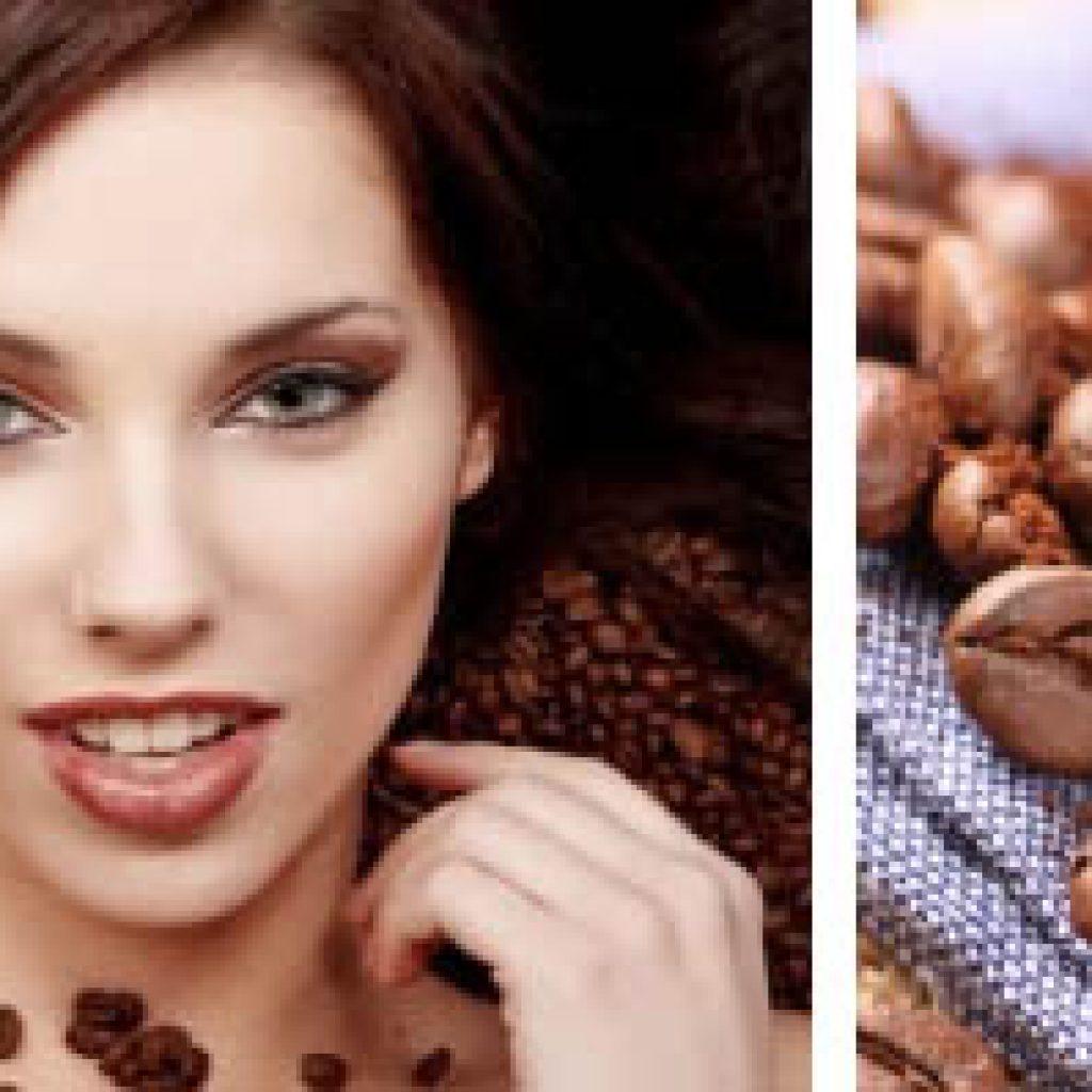 Маска из кофейных зерен для волос