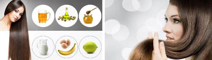 Маски для блестящих волос