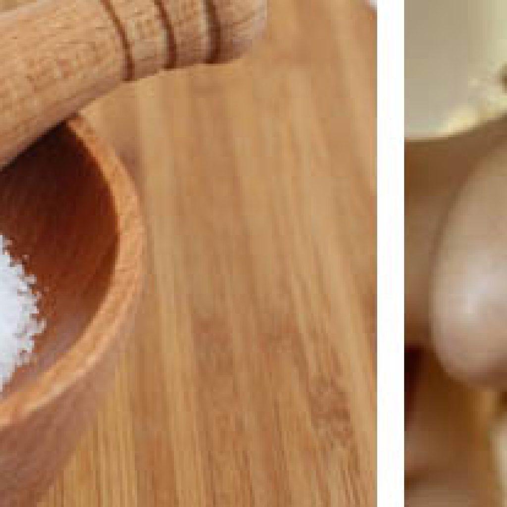 Массаж при помощи соли