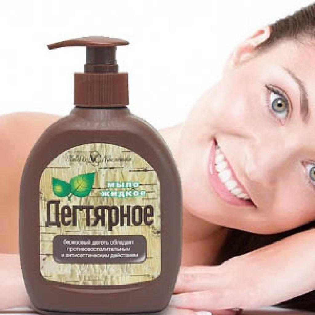 Мыло и шампуни с натуральным дегтем против перхоти