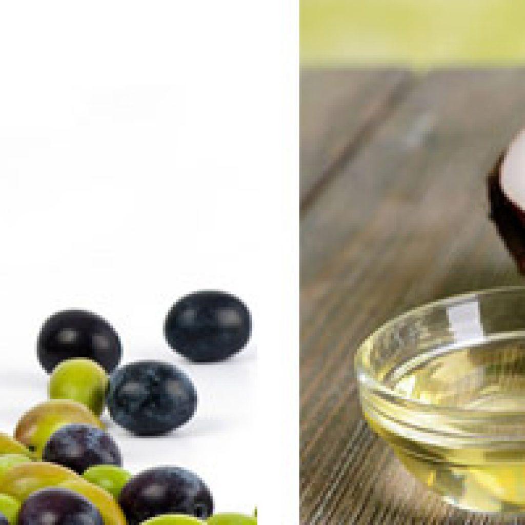 Оливковое и кокосовое масла