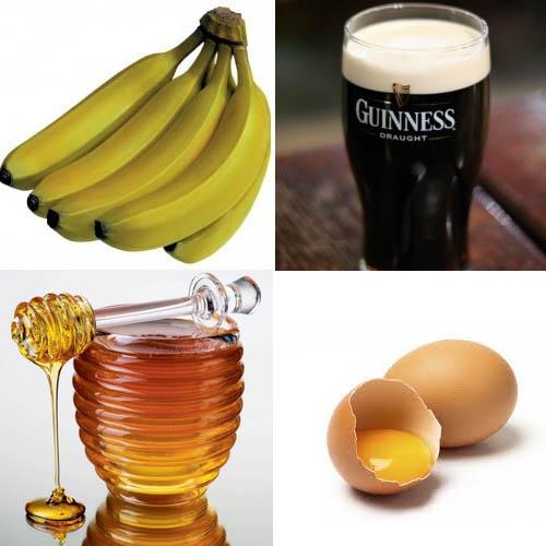 Рецепт с пивом и бананом