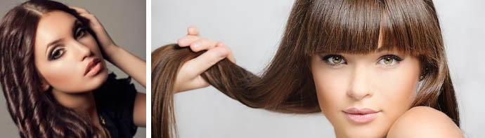 Тон мокко для волос