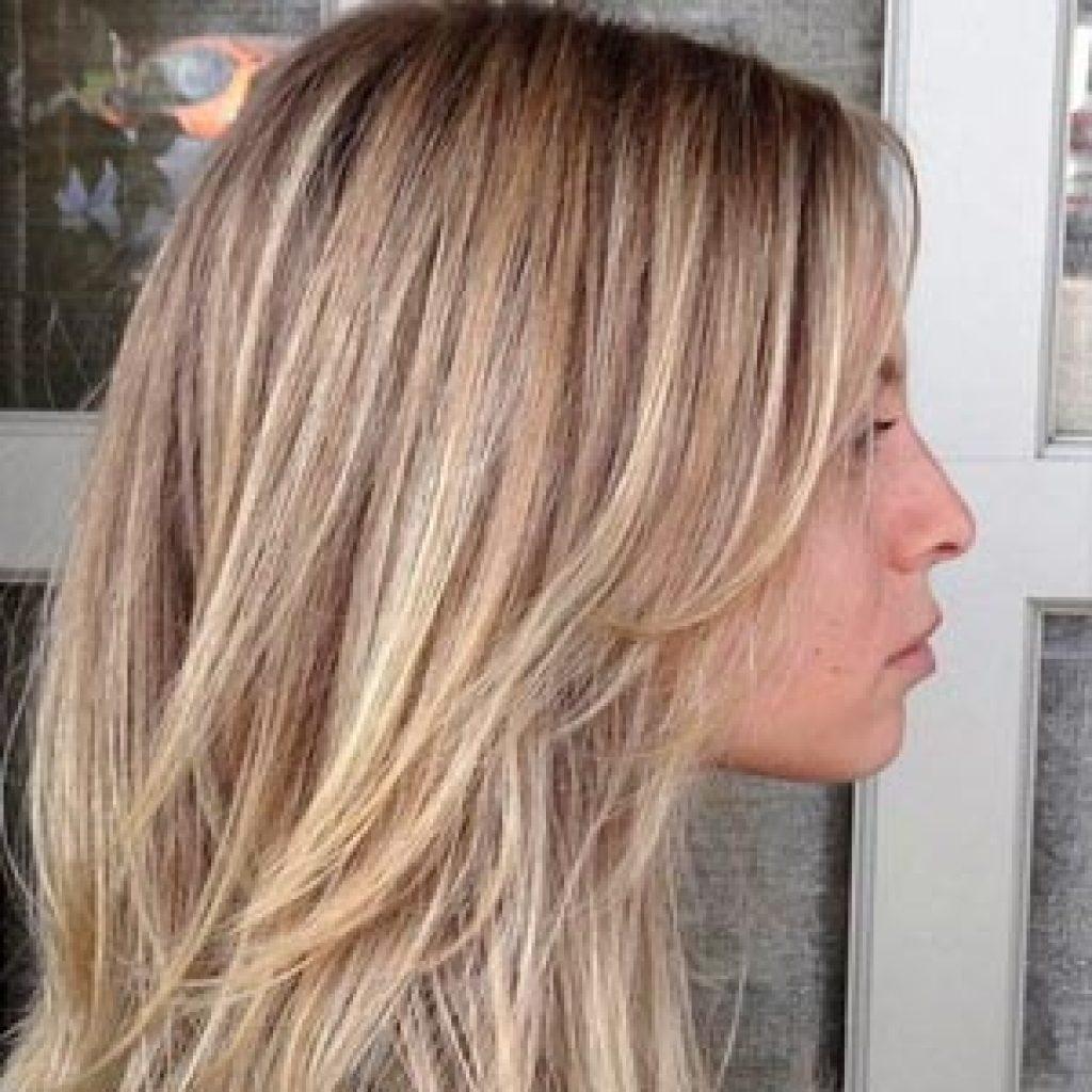 Брондирование волос русых и светлых оттенков - фото после окрашивания