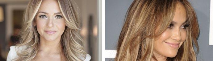 Брондирование на светлых волосах