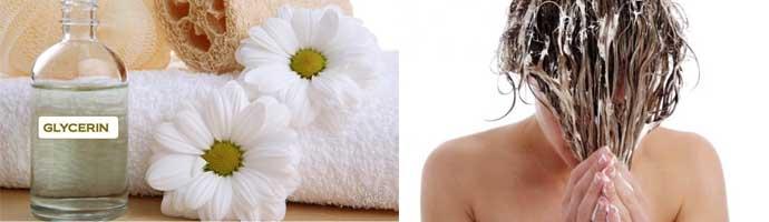 Глицериновые смеси для волос