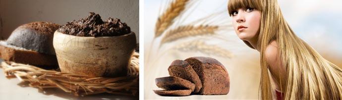 Маски на основе хлеба