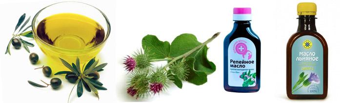 Польза растительных масел