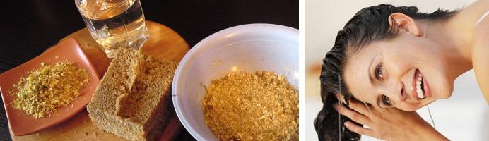 Польза хлебных масок