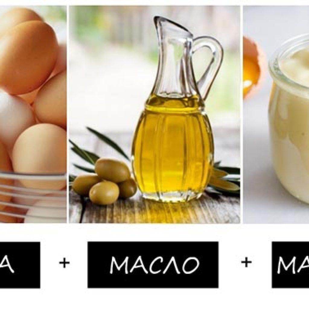 Рецепт питательной маски