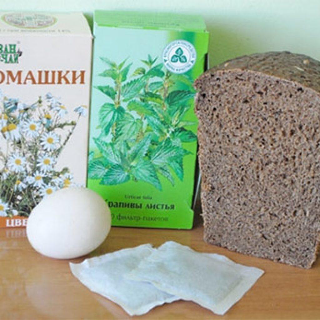Смесь с ржаным хлебом