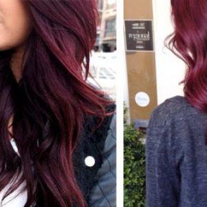 Фото покрашенных волос
