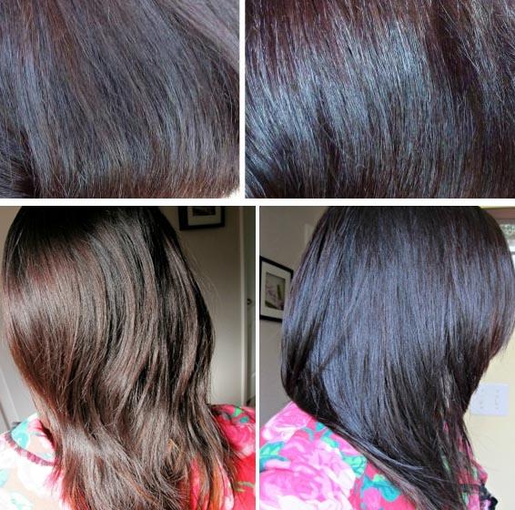 Фото после покраски волос