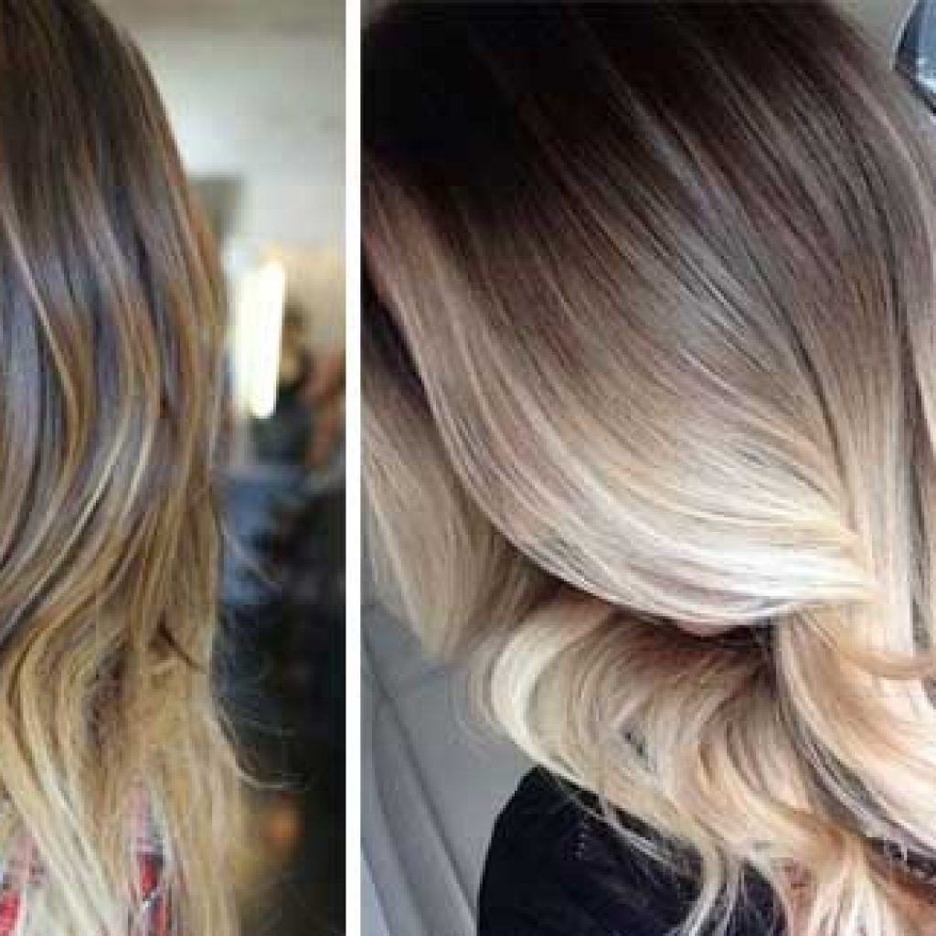 Фото русых волос с амбре