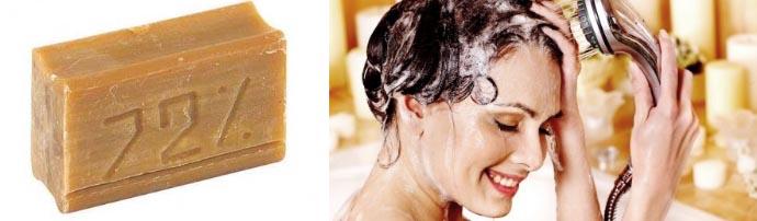 Хозяйственное мыло для локонов