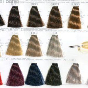 Цвета Hair Light Crema Colorante