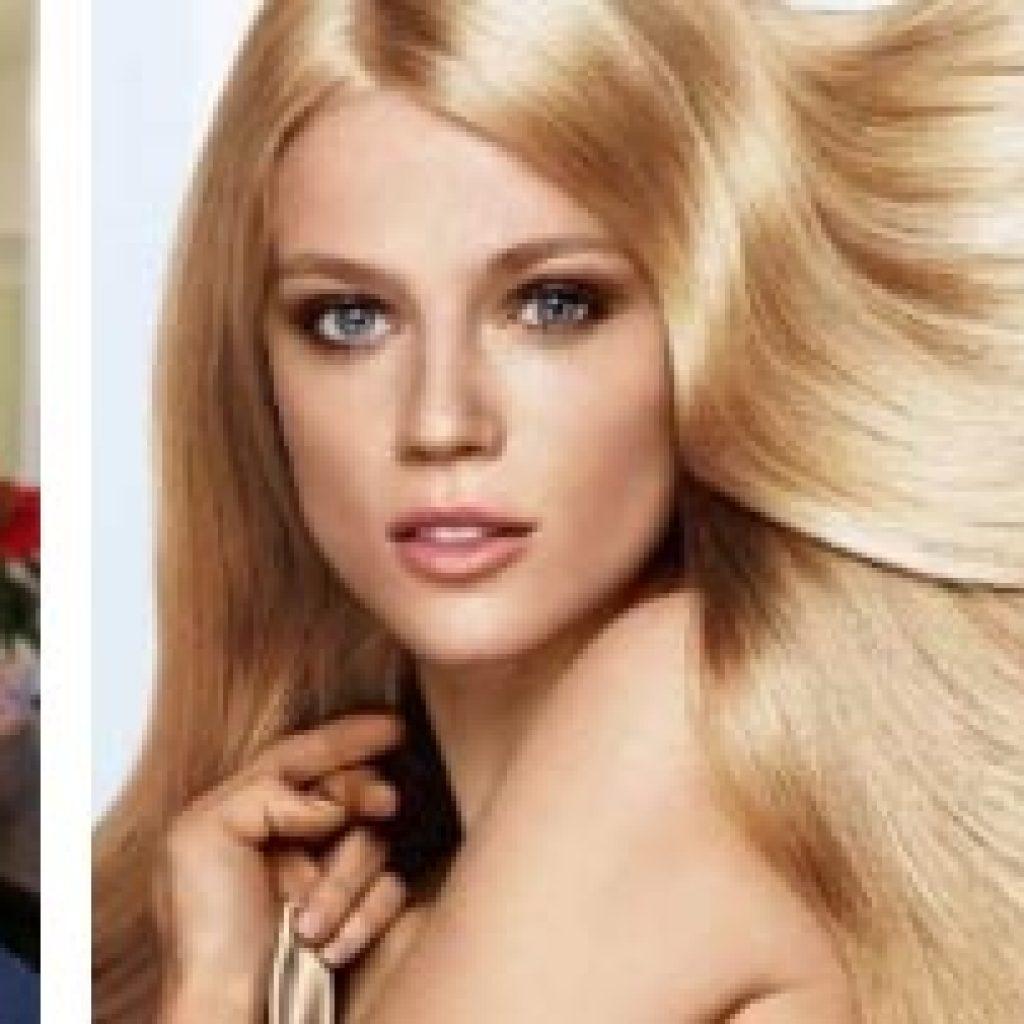 Светло-русые волосы у девушек