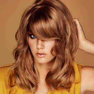 Окрашивание волос в медовые оттенки