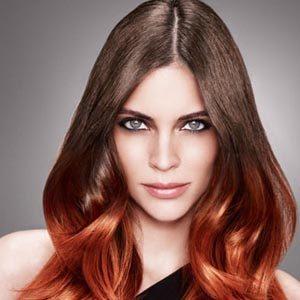 Покраска волос в стиле амбре – фото после окрашивания