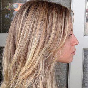 Брондирование волос русых и светлых оттенков – фото после окрашивания