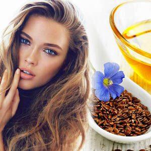 Масло из семян льна для волос