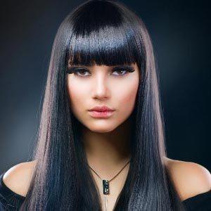Кому подойдут волосы черного цвета?