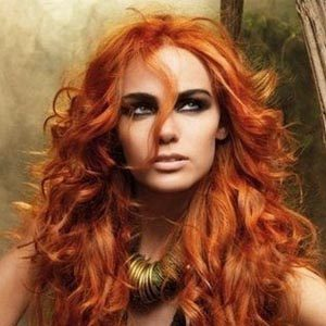 Красим волосы в цвета янтаря